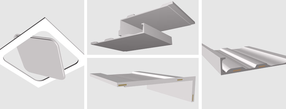 GRG Components for Modern Interiors